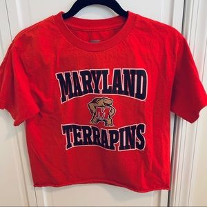 Tops - Umd cropped tee